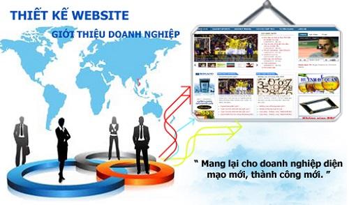 Thiết kế website thông tin doanh nghiệp