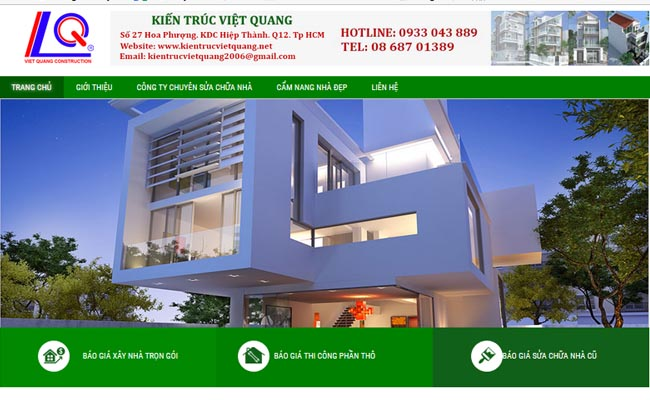Website xây dựng 002