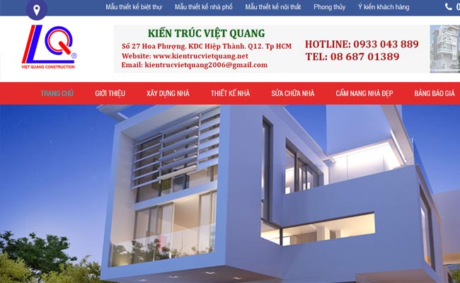 Website xây dựng 004