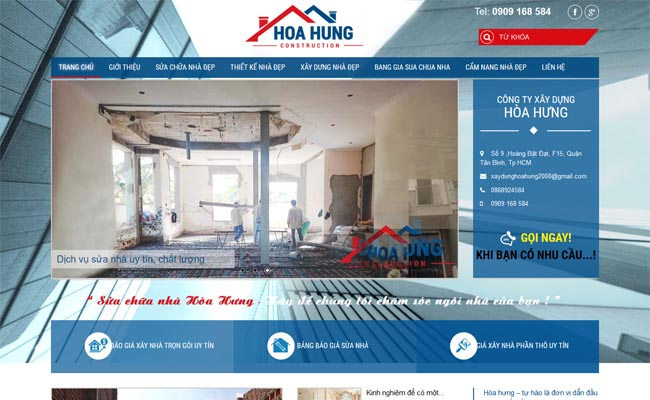 Website xây dựng 005
