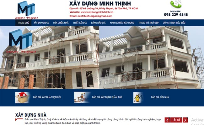 Website xây dựng 006